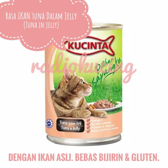 Review Makanan Kucing Kaleng Basah Kucinta Wet Food Radiokucing Com
