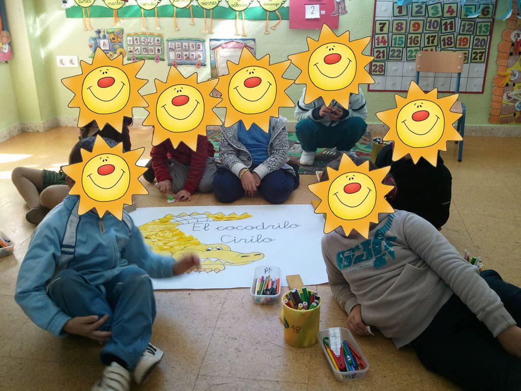 Mis cosillas de Educación Infantil : El cocodrilo Cirilo