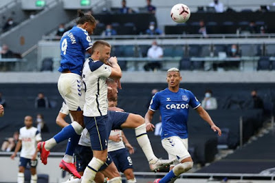 ملخص وهدف فوز ايفرتون على توتنهام (1-0) الدوري الانجليزي