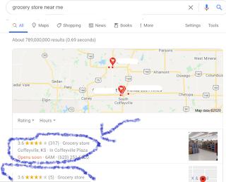 गूगल पेज पे google map बिज़नेस लिस्टिंग्स