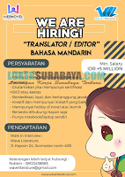 We Are Hiring at Wave Literature Surabaya Terbaru Juli 2019
