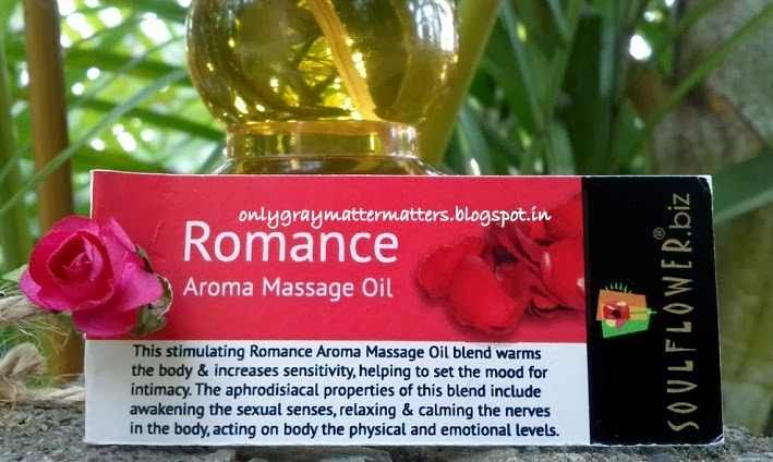 aromatherapy aphrodisiac massage oil Soulflower India