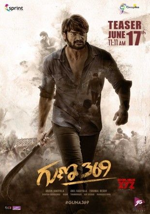 Guna 369 (2019) Full Hindi Dubbed Movie Download HDRip 480p 300Mb