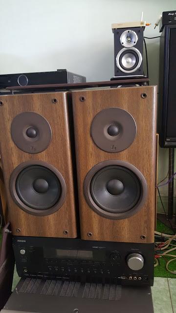 Ampli 5.1 dts - Ampli stereo - Đầu MD làm DAC - Đầu CDP - Sub woofer v.v.... - 31