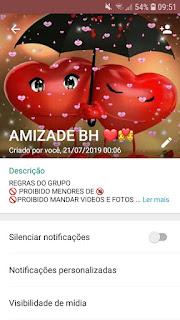 Amizade bh mg ddd31 - Grupo de WhatsApp