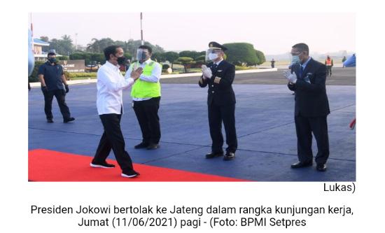 Pagi Ini Presiden Jokowi Tinjau Bandara JB Soedirman Purbalingga