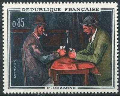 France 1961 Cezanne, Players Cards