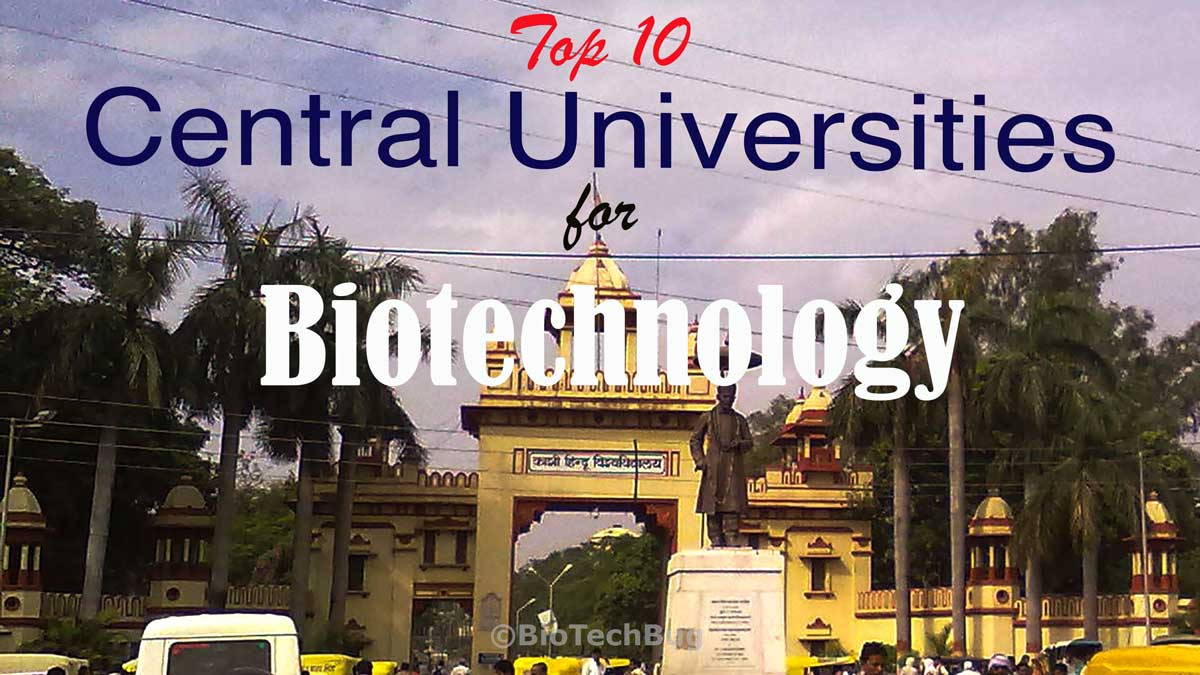 top central universities in India