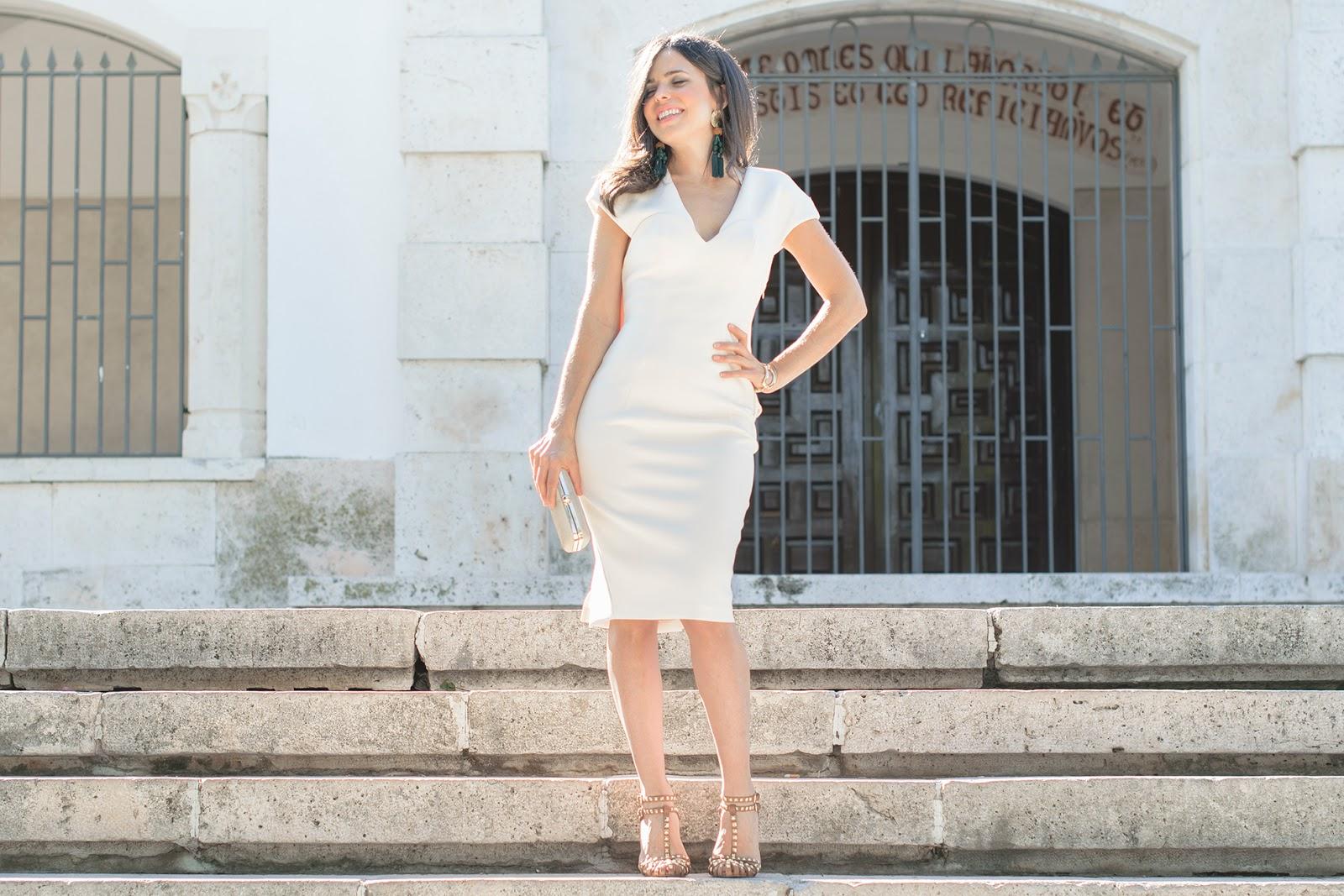 Look de Ponteunostacones con vestido de tubo de Asos