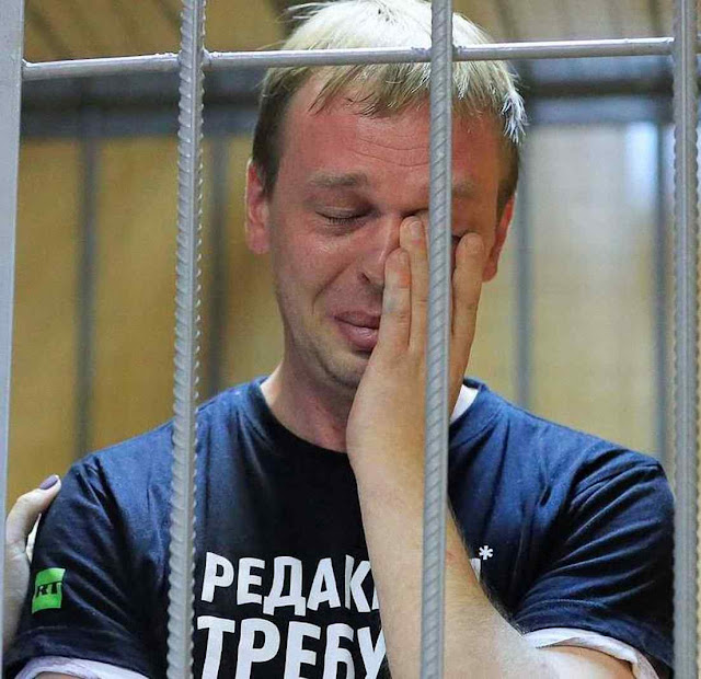 Ivan Golunov foi vítima de uma armação porque denunciou máfia do FSB. Putin teve que liberá-lo para acalmar indignação