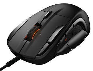 SteelSeries Rival 500, Optical Gaming Mouse, RGB Illumination, MMO, 15 Buttons, Tactile Alerts