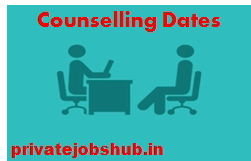 Counselling Dates
