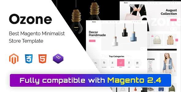 Best Magento Minimalist Theme