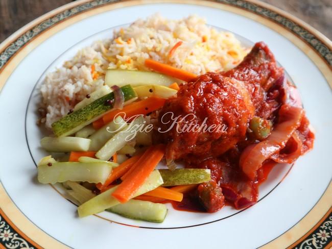 Nasi Minyak Dan Ayam Masak Merah Sangat Sedap A Keeper