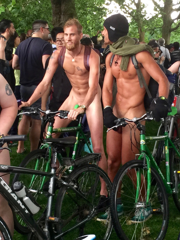 Portland's naked bike ride organizers encourage participants to carry on by themselves