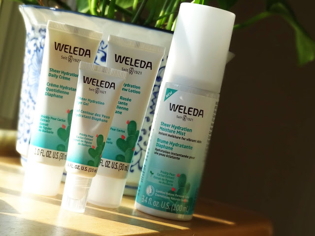 Weleda Sheer Hydration Skincare Range Review, Photos, Ingredients