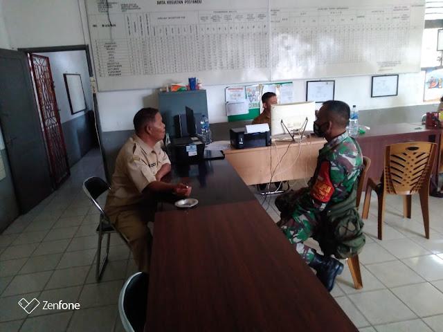 Dalam Rangka Jalin Silaturahmi, Personel Jajaran Kodim 0207/Simalungun Laksanakan Komunikasi Sosial