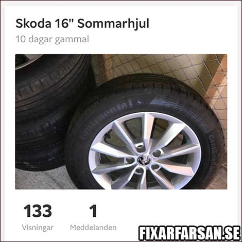 Sälja-Sommardäck-Blocket