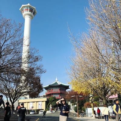 Suasana Taman Yongdusan
