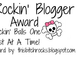 ★Rockin' Blogger Award