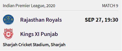 rajasthan-royals-match-2-ipl-2020