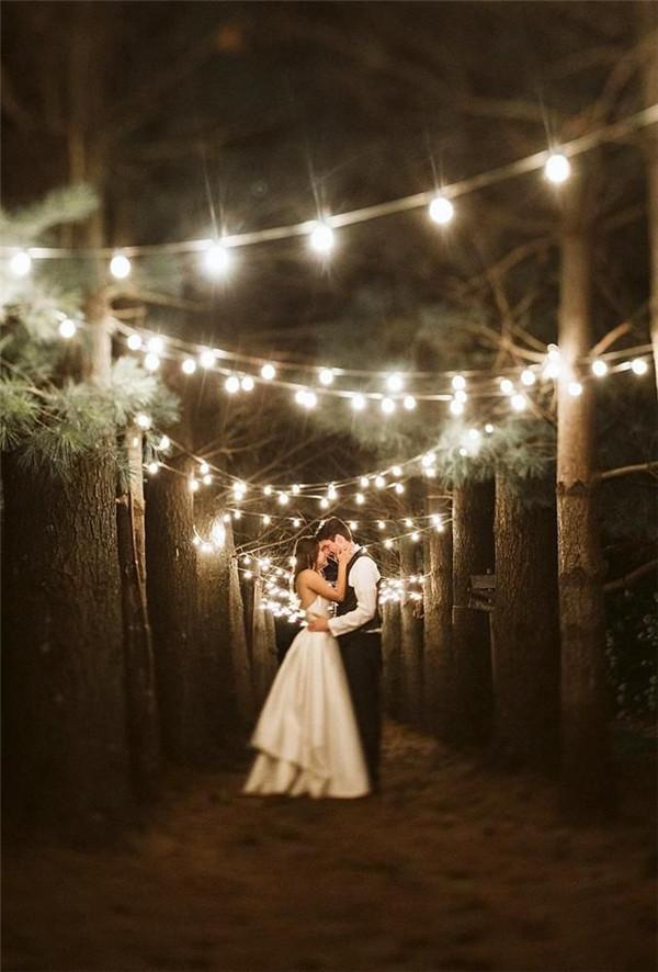 40 Most Romantic Night Wedding Photography Ideas