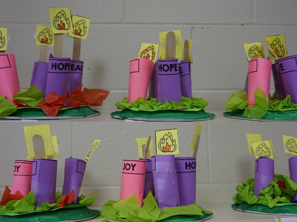 Advent Wreath To Make With Kids