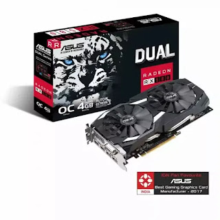 Asus Radeon Rx 580 8Gb graphics card