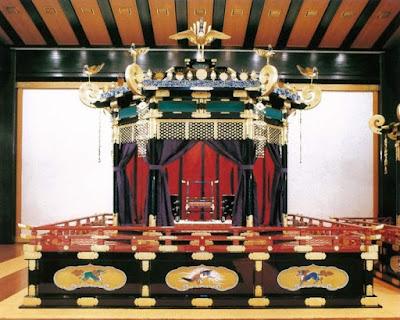 The Takamikura Chrysanthemum Throne