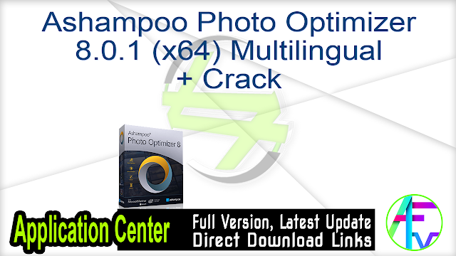 Ashampoo Photo Optimizer 8.0.1 (x64) Multilingual + Crack