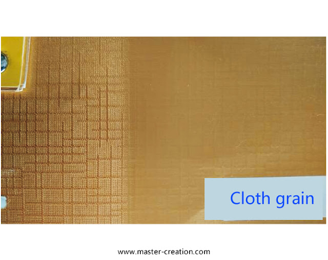 cloth grained paper