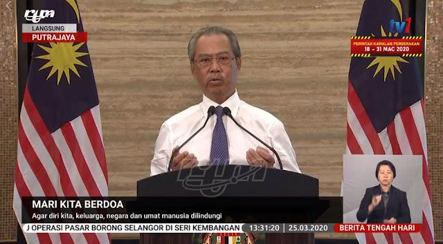 Perdana Menteri Mengajak Rakyat Malaysia Berdoa Dan Mengaminkan Doanya Bersamanya