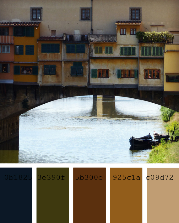 Florence color palette