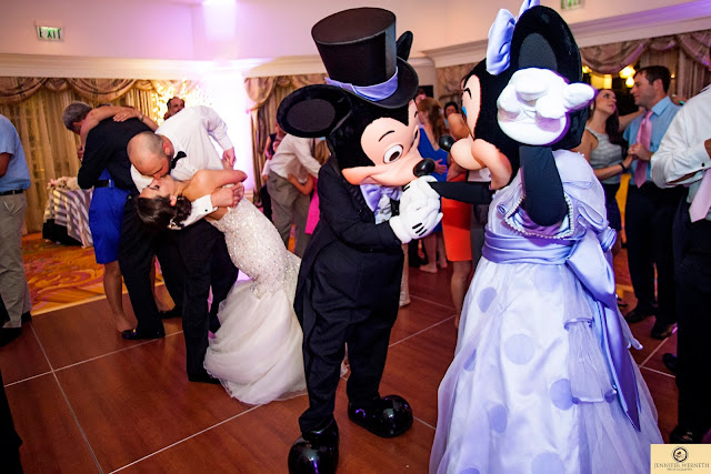 Disney World Wedding Photography Mickie and Minnie