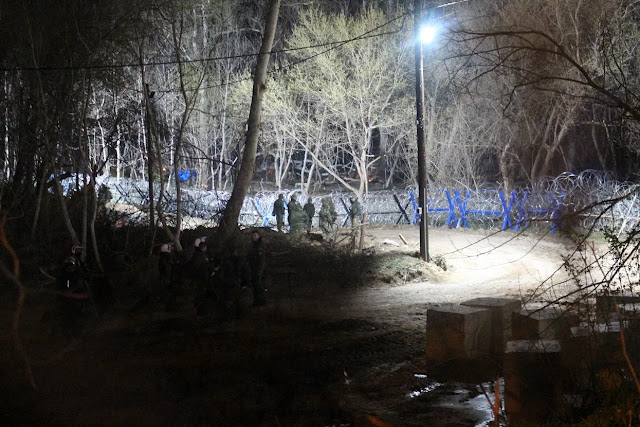 Έβρος: Συντονισμένες επιθέσεις λαθρομεταναστών και Jadarma