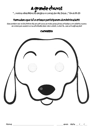 Desenhos Para Colorir Cachorro