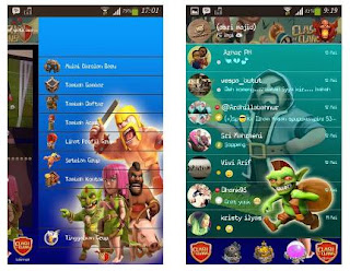 bbm, bbm mod, coc, clash of clans, download, android, app