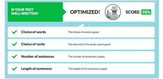 SEO TextOptimizer اضافة رائعة تناسب المتخصصين في التعامل مع المحتوى و تطويره  تتيح الإضافة قياس جودة المحتوى المكتوب  التي تقوم بنشره  ويكون ذلك بناءً على عوامل تقييم محركات البحث لهذا المحتوى