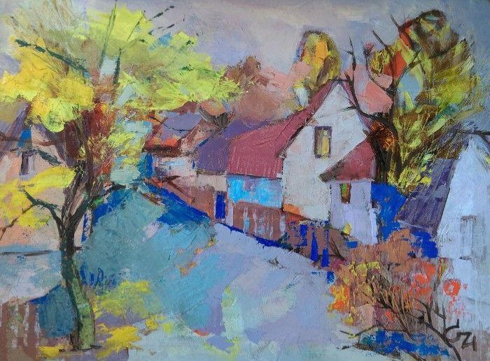Молдавский художник.