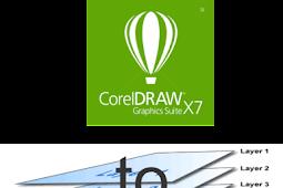 Cara Ekspor File Dengan Layernya Dari Coreldraw ke Photoshop