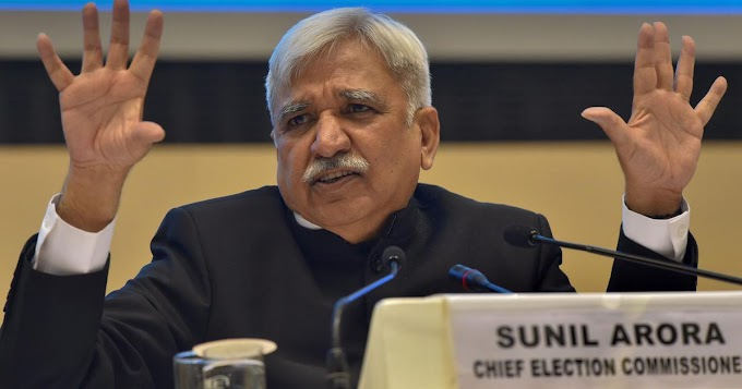 Election Commission reminded political parties to follow COVID-19 norms.
