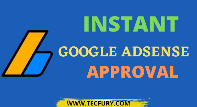 instant adsense approval trick