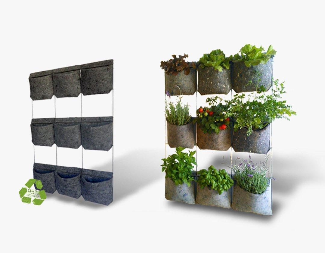 huerto urbano vertical