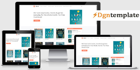 Ubook Responsive Blogger Template
