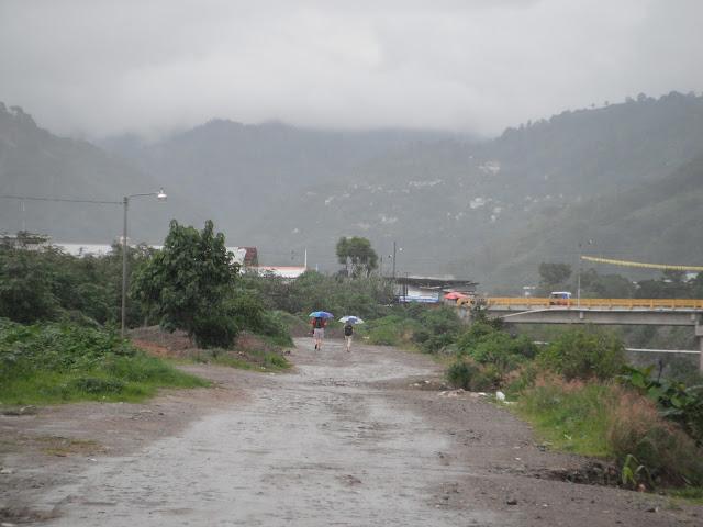 rain rainy season Guatemala Panajachel