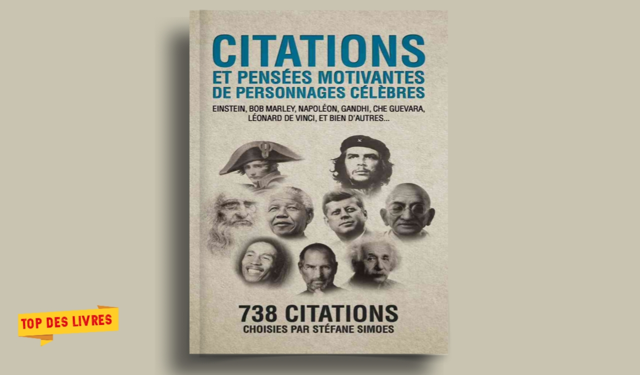 Télécharger : Citations et pensées motivantes de personnages célèbres en pdf