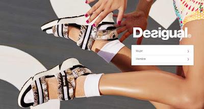 zapatos mujer de la marca Desigual en oferta