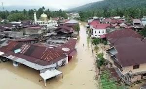 Banjir Terjang Solok Selatan, Satu Balita Tewas