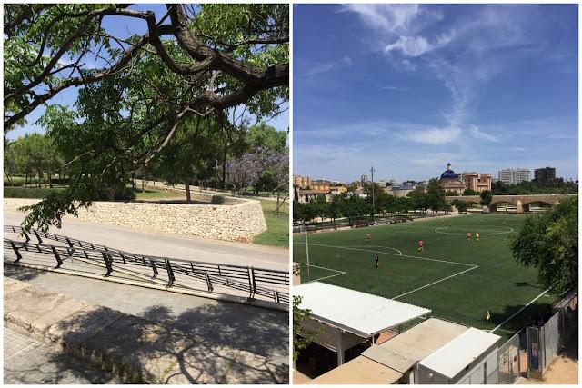 Valencia Park Rio Turia Jardin del Turia