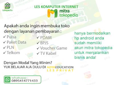 les komputer internet bisnis mitra tokopedia - nopember 2019